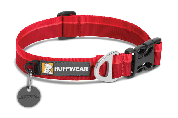 Ruffwear, Alltags-Hundehalsband Hoopie Collar, red currant (rot)