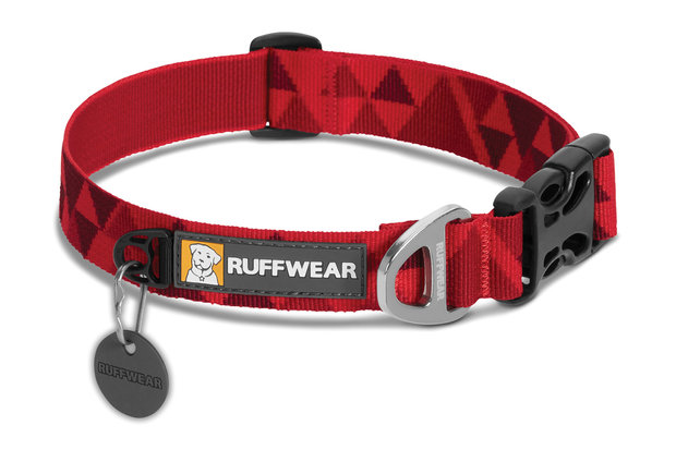 Ruffwear, Alltags-Hundehalsband Hoopie Collar, red butte (rote Hügel)