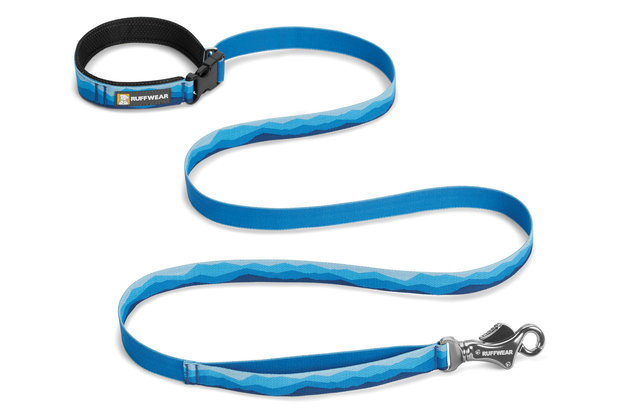 Ruffwear, verstellbare Alltags-Hundeleine Flat Out Leash, blue mountain (blau)