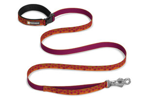 Ruffwear, verstellbare Alltags-Hundeleine Flat Out Leash, broke trout (Bachforelle)