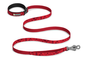 Ruffwear, verstellbare Alltags-Hundeleine Flat Out Leash, red butte (rote Hügel)