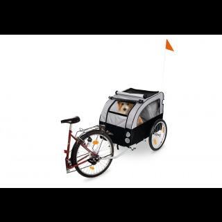 karlie doggy liner berlin fahrradanh nger f r gr ere hunde tourdog immer mit dabei. Black Bedroom Furniture Sets. Home Design Ideas