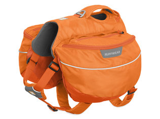 Ruffwear,  Approach Pack,  Hundeganztagesrucksack, orange poppy